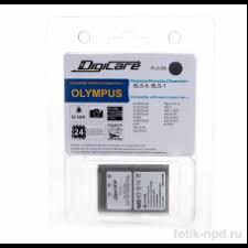 <b>Аккумулятор DigiCare PLO-S5</b> / Olympus BLS-5