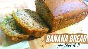 I used chocolate chips instead of nuts. Cara Membuat Banana Bread Resep Bolu Pisang Enak Banana Bread Recipe Banana Bread Recipes Recipes Banana Bread