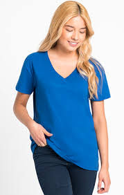 3940 Next Level Apparel Womens Relaxed V Mission Imprintables