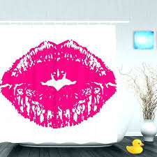 lips shower curtain y red lip designer curtains with renovation lipstick white and gold curtai famous breakfast at shower curtain