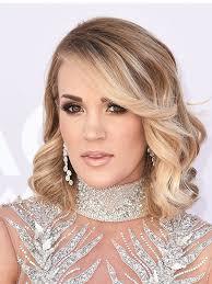photos carrie underwood s acm awards hair makeup beauty hollywood life