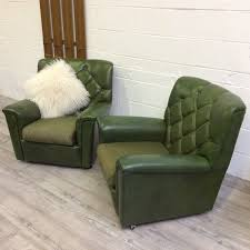 vintage 60s furniture. 2 Vintage Retro 60s Mid Century Modern Lounge Chairs Armchairs | Vinterior Furniture