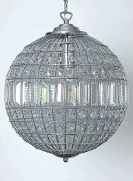 round crystal chandelier ball chandeliers lovely hanging residence decorating suggestion pendant lighting ideas fixture