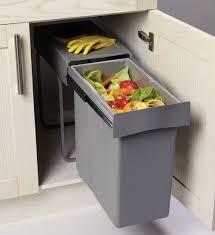 Perfect Poubelle Coulissante Containers Litres Accessoires With Accessoire Meuble Cuisine