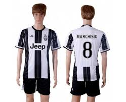 On Juventus Jersey Soccer for Club Marchisio Home Sale China wholesale Cheap From 8