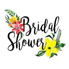 Wedding Shower Clip Art Bridal Shower Png Vector Psd And Clip 604868 Png