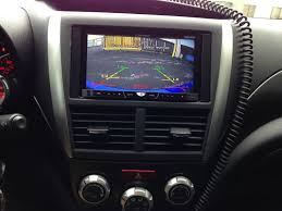 backup camera install 2011 wrx sedan pictures included 2013 Subaru Wrx Console Wiring Diagrams i also did the same thing you did in following the stock wiring harness all the way up to the head unit along the passenger side Subaru Wiring Harness Diagram