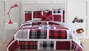 bag sets bedding versace ideas decor sheets bedroom decorating wall white plaid comforter pictures red furniture