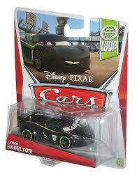 Car car film cars cars 2 movie disney pixar cars disney disney grand prix ferrari. Disney Pixar Cars Movie Lewis Hamilton Wgp Die Cast Toy Car Ebay