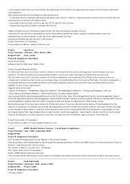 Wcf Resume Sample