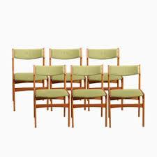 vine od 49 chairs by erik buch for oddense maskinsnedkeri set of 6