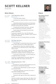 Chief Marketing Officer Resume Gallery  Sample Resume   Charles West   CEO COO