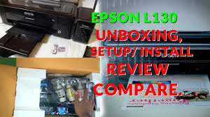 Cheap Best Printer Epson L130 Inktank Unboxing And Review Hindi
