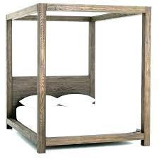 Wood Canopy Bed Frame Diy Wood Canopy Bed Frame – restorationsafford.org