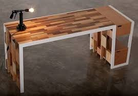 office wood table. Recycled Wooden Furniture: Office Desk, Sideboard \u0026 Bookcase Designs Wood Table U