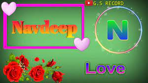 Navdeep Name 3D Love Whatsapp Status G ...
