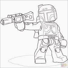 Boba Fett Coloring Pages New Star Wars Coloring Pages Anakin