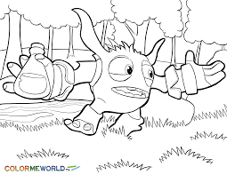 Skylanders Trap Team Coloring Pages Coloring Home