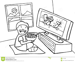 black kids watching tv. royalty-free stock photo. download kid watching tv - black kids tv l