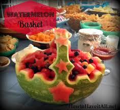 watermelon fruit basket for graduation. Modren Watermelon Watermelon Basket Carving For Watermelon Fruit Basket Graduation O