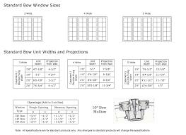 Andersen Fixed Window Size Chart Window Sizes Casement Window Sizes Chart