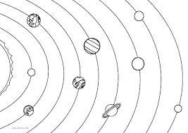 Solar System Color Pages Solar System Coloring Pages Kindergarten