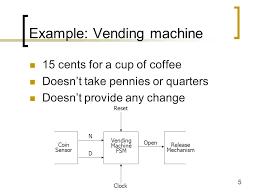 State Machine Vending Machine Adorable Lecture 48 General Finite State Machine FSM Design Ppt Video