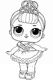 Coloring Page Lol Surprise Dolls Coloring Pages Print Out For Free