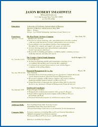 Job Skills Examples Example Resume Writing For High School Student