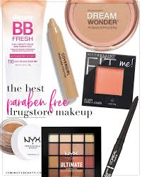where to find paraben free makeup