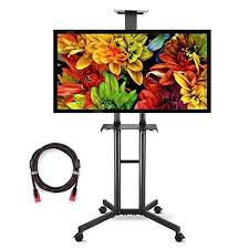 outdoor tv stand home entertainment portable adjule universal 32 60 screen for