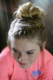 Plaiting Hair Style 25 best bun with braiding hair ideas all 8500 by wearticles.com