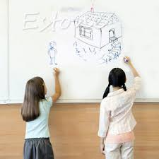 whiteboard for office wall. Image Is Loading Removable-Whiteboard-Office-Wall -Sticker-Kids-Drawing-Writing- Whiteboard For Office Wall M