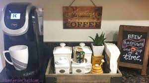 Some things can just be decorative to brighten your day. Diy Coffee Station Ideas Build The Most Awesome Home Coffee Bar