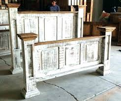 Distressed Bedroom Furniture Rustic White Bedroom White Distressed ...