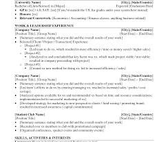 Investment Banking Resume Template Charming Investment Banking Resume Objective Examples About 77