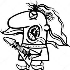 Rockman Cartoon Kleurplaat Stockvector Izakowski 27638915