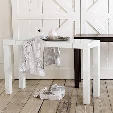 white sofa table. White Parsons Console Table Sofa \