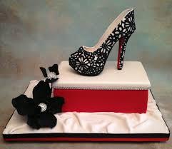 Sugar Paste Cake Decorating Fondant Gum Paste High Heel Shoeclassy Cake Crafts