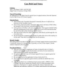 Awesome Case Brief Template Word Images Resume Ideas Namanasa Com