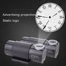 led projector wall clock electronic