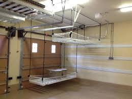 storage over garage door diy garage storage sliding doors