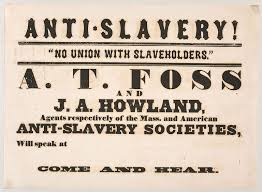 The Antislavery Movement Was Referred To As What Is Abolitionism