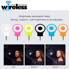 Soft Selfie Light Universal Rechargeable 8 Led Flash Light Up Mini Selfie Light Phone Flashlight For Iphone 6 7 Plus Samsung S8 S8 Plus
