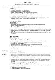 Scanning Clerk Resume Magdalene Project Org