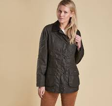 Ou0027Connellu0027s Clothing  WOMENS  Barbour  Waxed  Barbour Country Style Wax Jacket