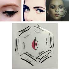 eyeliner pen quality eyeliner kohl directly from china stencil tattoo suppliers 24pcs lot eyebrow stencils 24 styles reusable eyebrow drawing