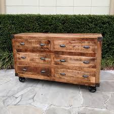 dresser on wheels.  Dresser SixDrawer Dresser On Wheels Inside On D