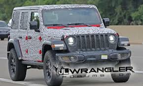 2018 jeep jl. contemporary 2018 2018 jeep wrangler jl undresses to reveal production design throughout jeep jl