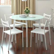 round breakfast table set kitchen dining room sets small round table set for 6 dark brown